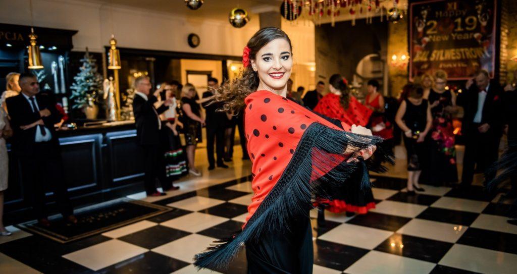 Pokaz tańca flamenco w Ustce