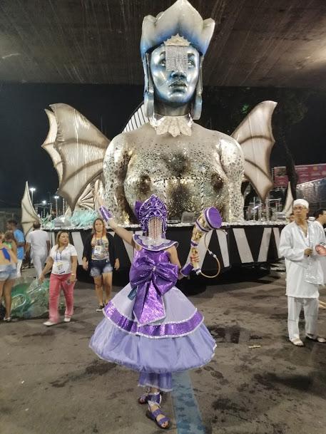 monika-stroj-sambodrom Nasza tancerka wzięła udział w Karnawale w Rio de Janeiro
