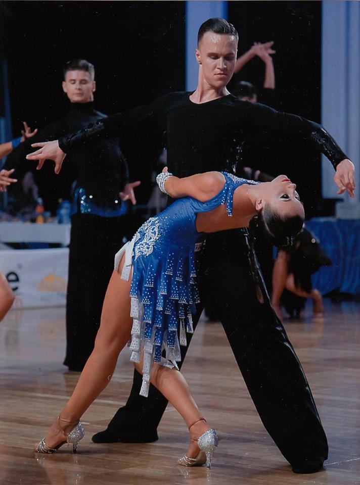 para-towarzyska Pokazy Taneczne Par Towarzyskich