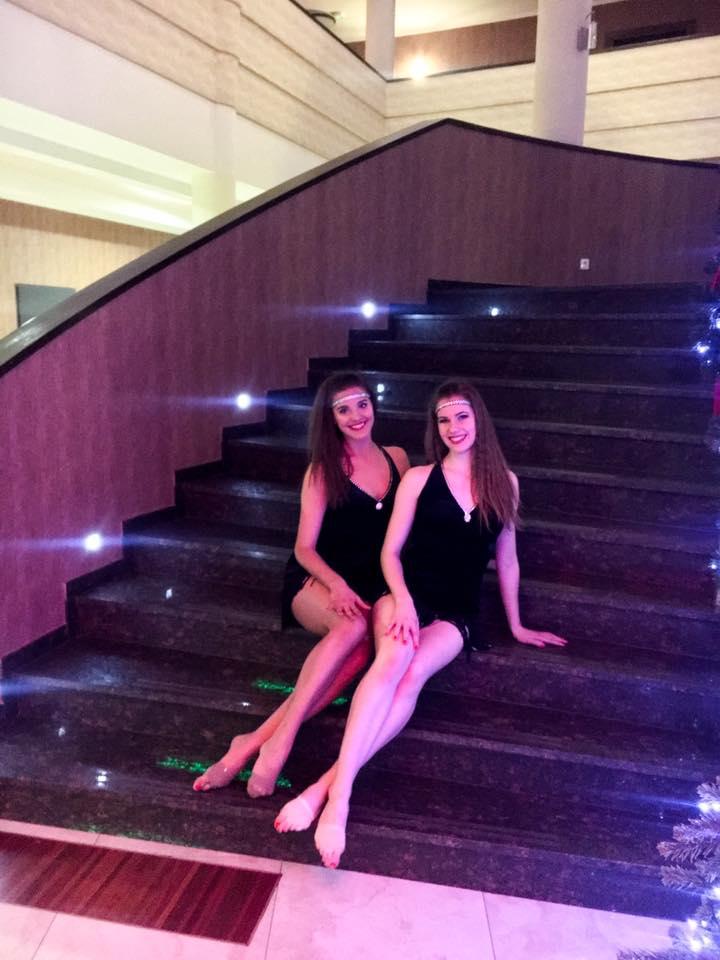 Pokaz taneczny w Hotelu Mistral Gniewino